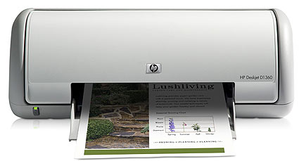 Hp deskjet d1360 printer drivers download.