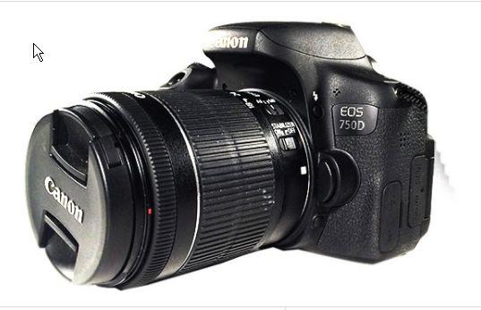 Harga dan Spesifikasi Canon EOS 750D  436f94d991
