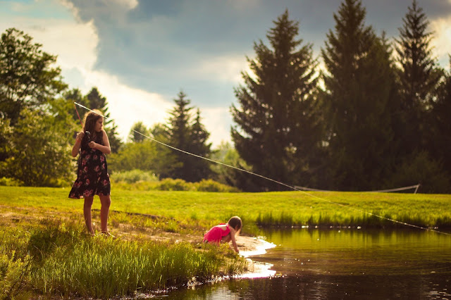 Why teach your kid how to fish