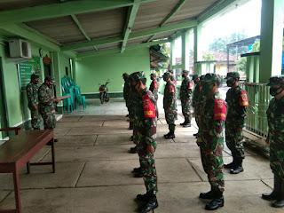 Anggota Koramil 05 Mayong Rutin Cek Kesiapan Kekuatan