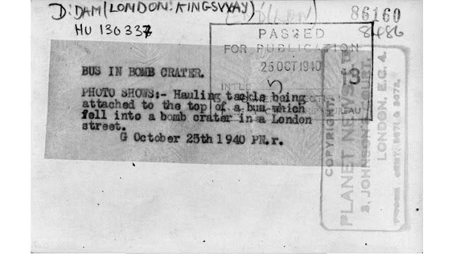 25 October 1940 worldwartwo.filminspector.com London Blitz bus