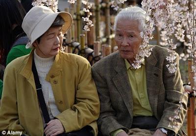 Elderly couple, Japan