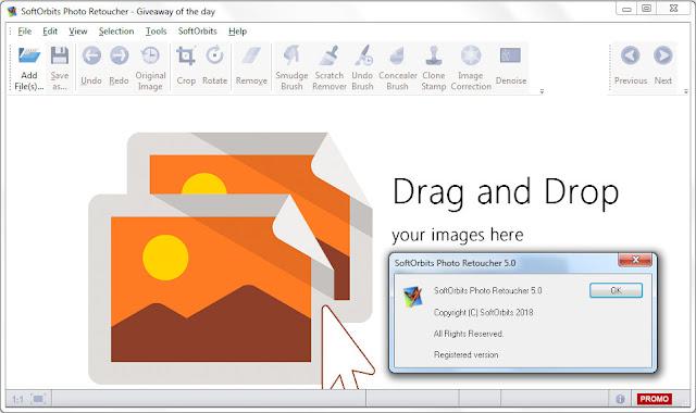 Screenshot SoftOrbits Photo Retoucher 5.0 Full Version