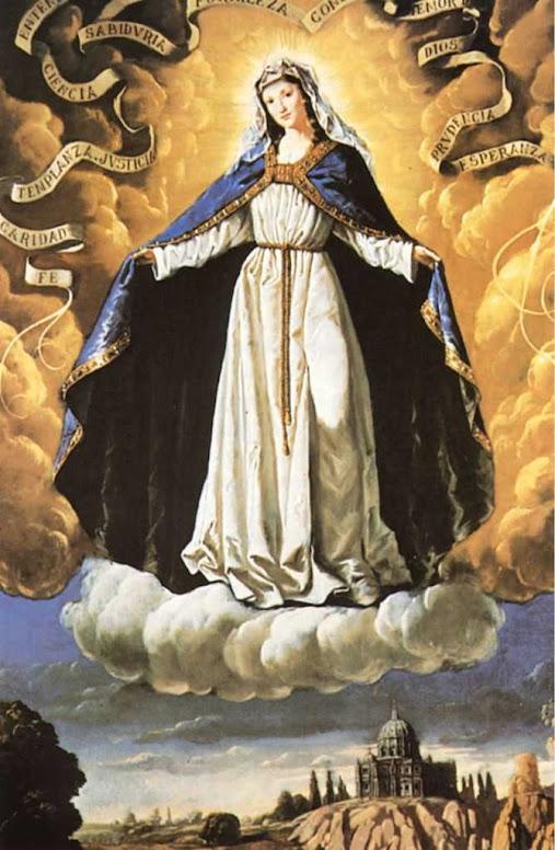 Nossa Senhora das Virtudes era devoção preferida da Escola do Pe. Palau