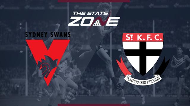 Sydney Swans vs St Kilda Biss Key AsiaSat 5 Sabtu, 24 Agustus 2019
