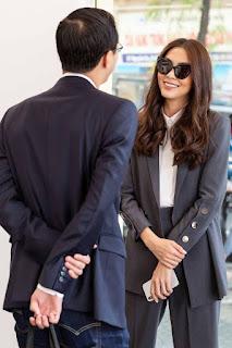 Lần đầu tiên thấy Tăng Thanh Hà mặc đồ xuyên thấu theo cách này