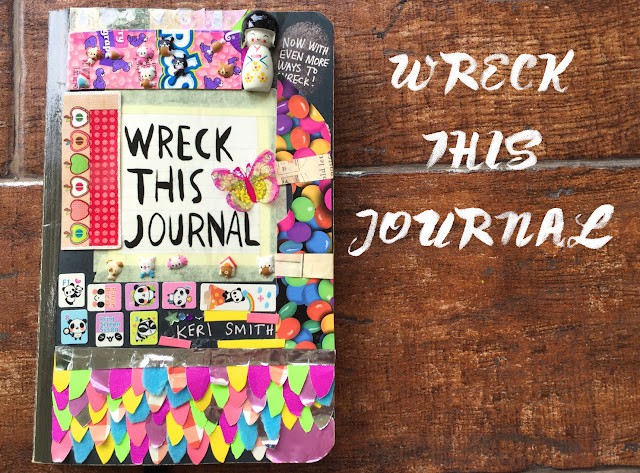 Wreck This Journal ep.1