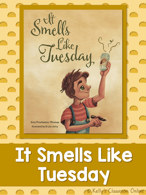 Learn more about the children's book It Smells Like Tuesday by Amy Provinzono-Thomas in this guest post by the author.  Fiction. Grades K-2nd.