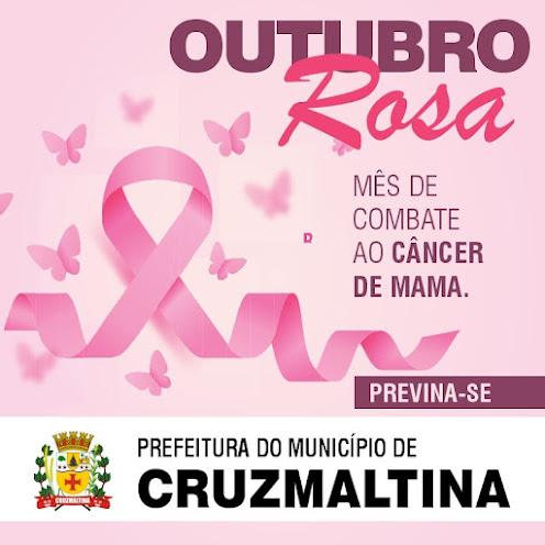 CRUZMALTINA - Mês de Combater o Câncer de Mama