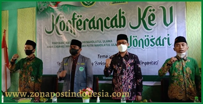 PAC IPNU-IPPNU Kecamatan Wonosari, Gelar Konferancab Ke-V Di Pondok Pesantren Darut Thalabah Wonosari