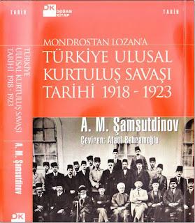 A.M. Şamsutdinov - Türkiye Ulusal Kurtuluş Savaşı Tarihi