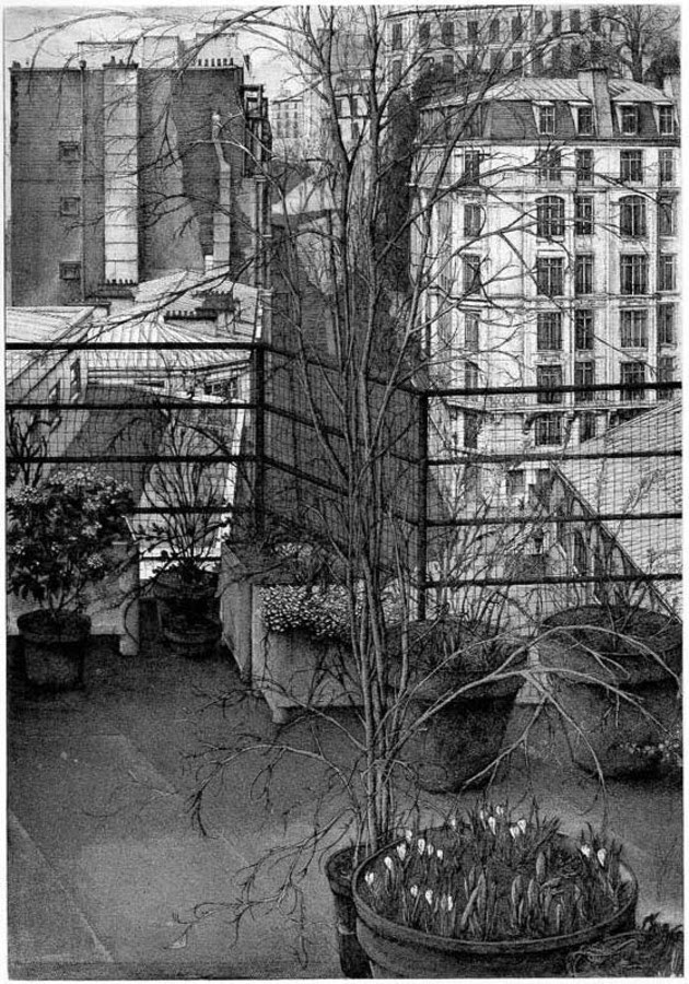 09-La-Rue-Charles-Nodier-Erik-Desmazières-Architectural-Etching-and-Pencil-Drawings-www-designstack-co