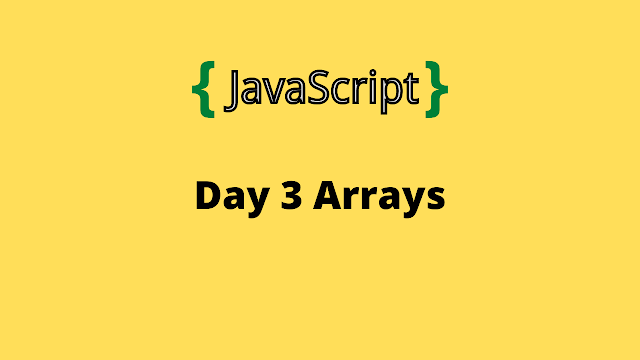 HackerRank Day 3: Arrays 10 days of javascript solution