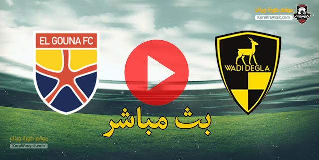 بث مباشر | مشاهدة مباراة الجونة ووادي دجلة اليوم في الدوري المصري
