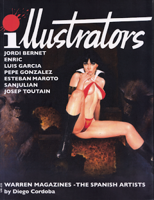 Illustrators - Warren Magazines the Spanish Artists