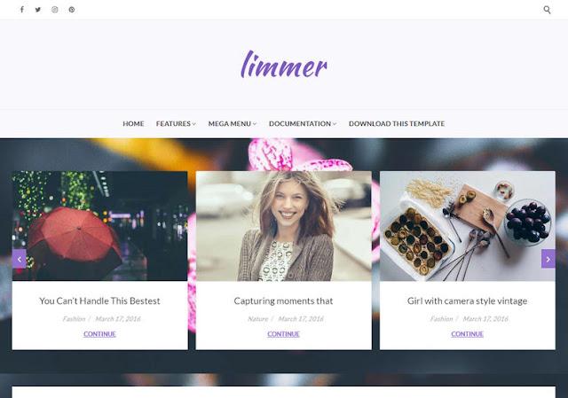 Limmer Blogger Premium Template,  Limmer Blogger Premium Version