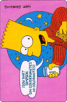 Bollycao The Simpsons Cromo 52