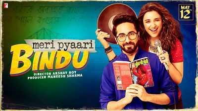 Meri Pyaari Bindu Hindi Movie (2017) Full Free Download 300mb DVDCAM