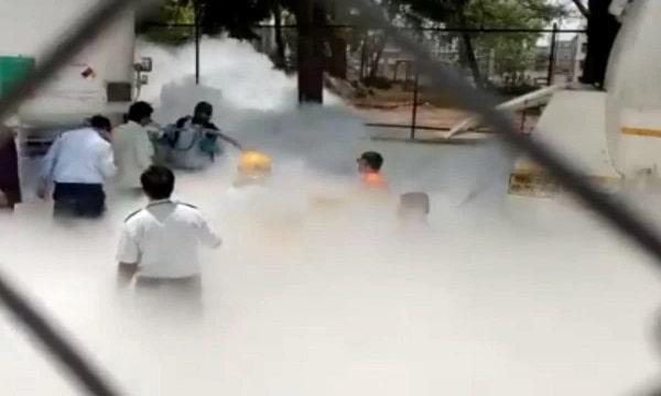 India: Hospital Oxygen Tanker Leaks During Refueling, Killed 22 People