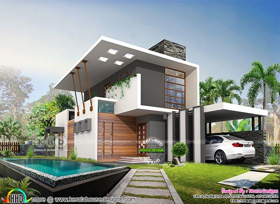 2068 square feet 3 bedroom contemporary house