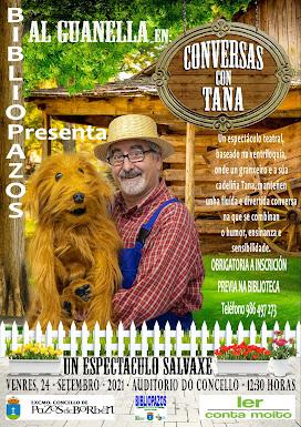 """CONVERSAS CON TANA"" con Al Guanella"