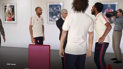 PES 2021 ML Coach & Staff Arsenal Fantasy by Matsy Monger