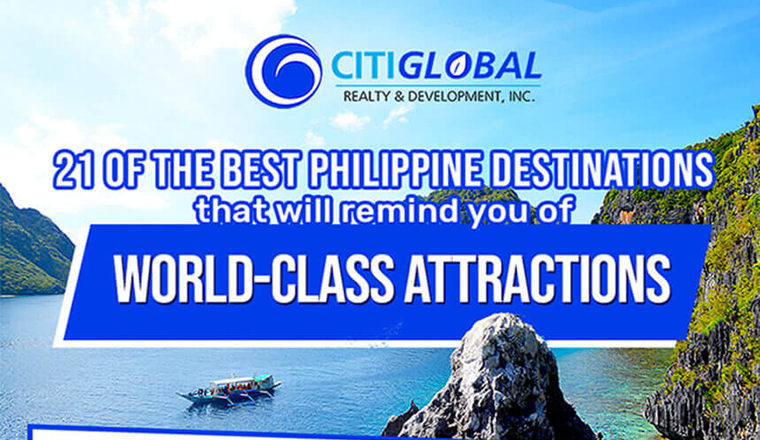 Top Philippine Destinations that Resemble Stunning International Attractions #infographic