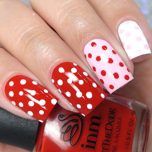 Valentine's Day Nail Art | Simple Dotticure
