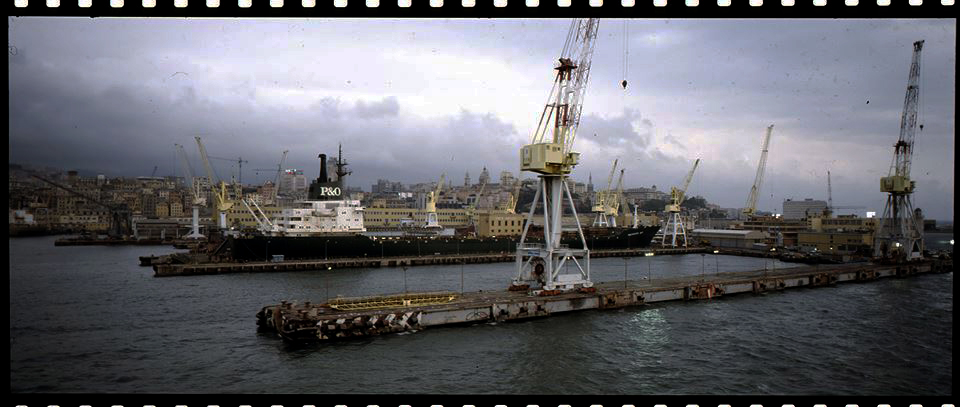 Genova, circa 1994 - Fotografia di Giorgio Jano