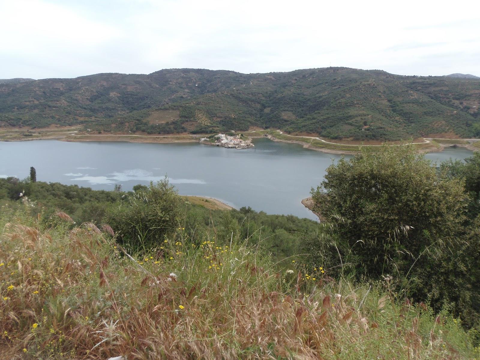 sfendyli, underwater village, crete, heraklion, gouves, greece, water