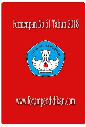 Permenpan No 61 Tahun 2018