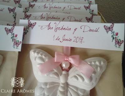 detalles invitados cerámica perfumada