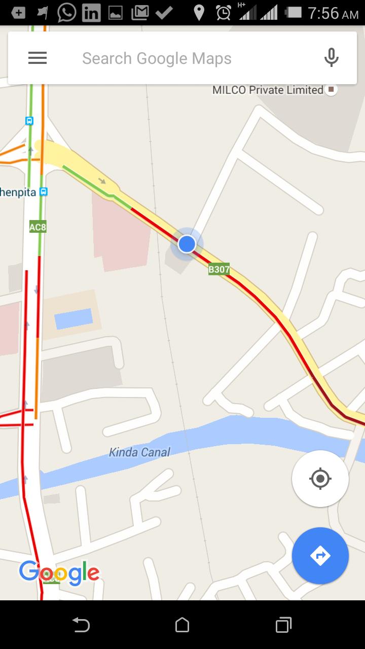 Google Live Traffic Updates Now Enabled for Sri Lanka