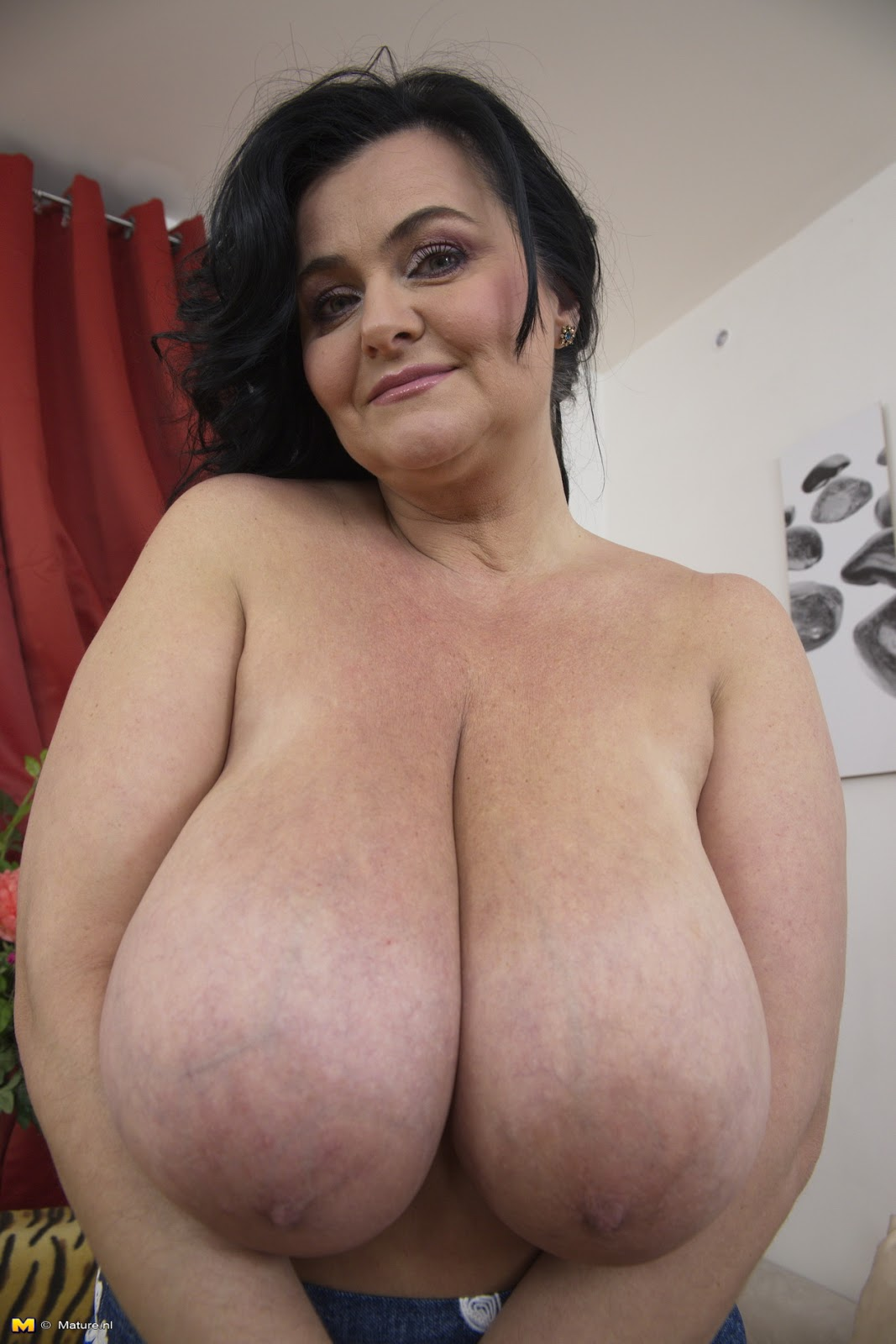 Large Breasted Mature Woman