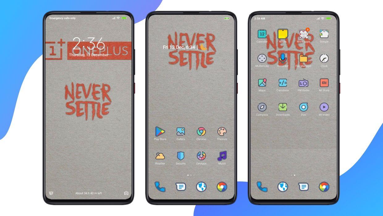 [HERUNTERLADEN] :  Bestes Oxygen OS MIUI-Thema für alle Xiaomi-Geräte |  OxyGen Plus V11