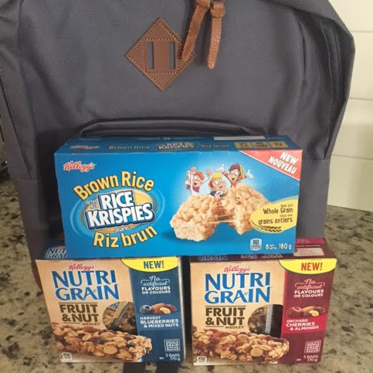 Kid Loved, Parent Approved: A Kellogg's Giveaway For Back To School