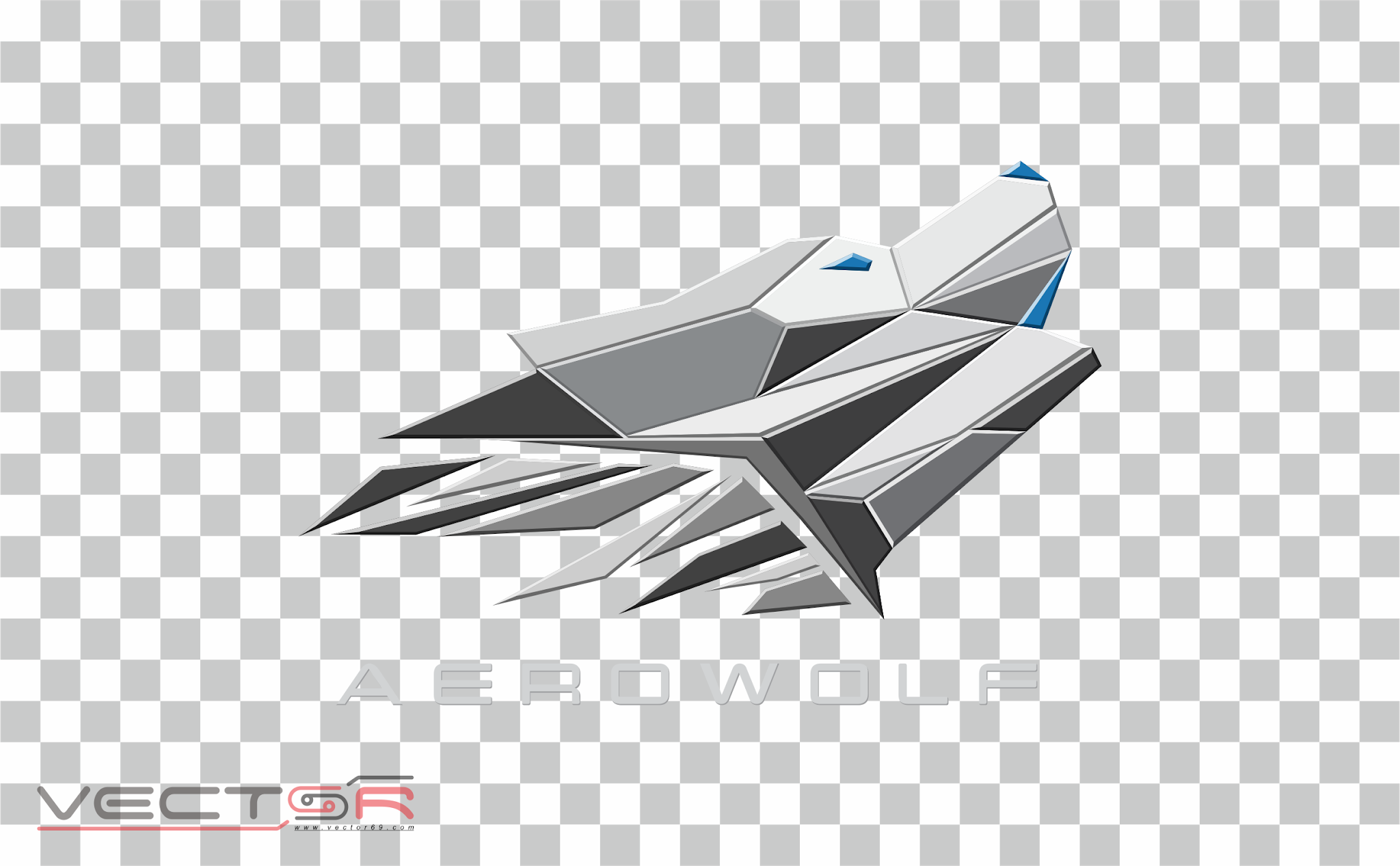 Aerowolf Pro Team Logo - Download Vector File PNG (Portable Network Graphics)