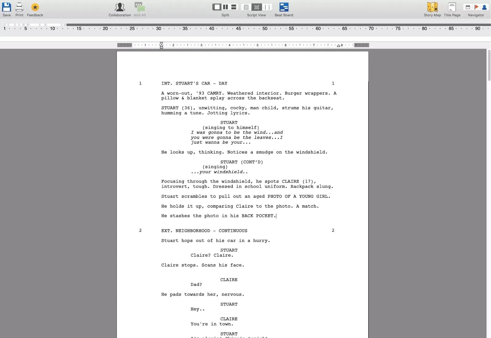 تحميل برنامج Final Draft 11.1.3 Build 83 لكتابة وتنسيق عروض الشاشة بتنسيق سيناريو قياسي
