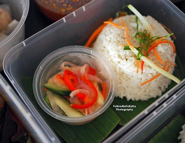 Asam Pedas Kepala Ikan Salmon Rice Set