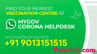 Find Nearest Vaccination Center With Government Whatsapp HelpDesk