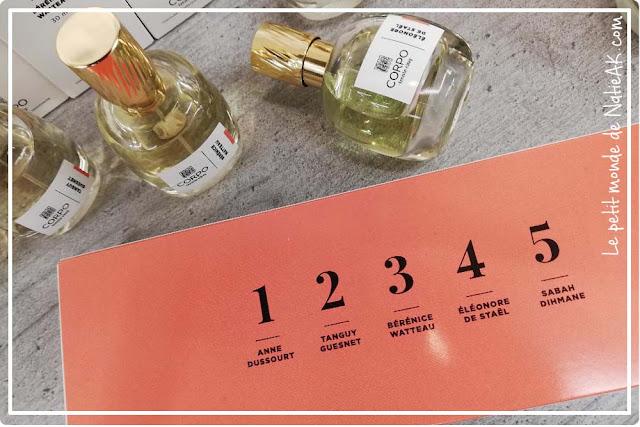 parfum français femme Corpo 35