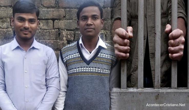 Pastores presos en prisión de la India