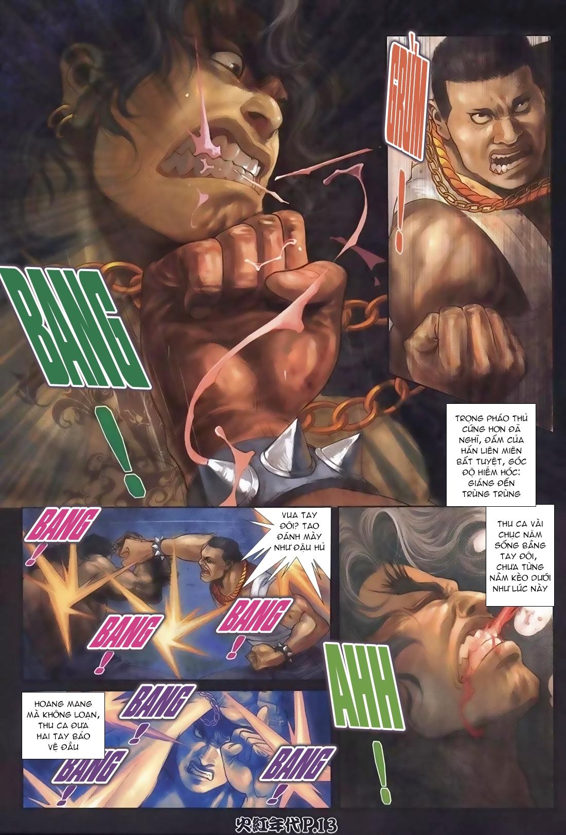 Hỏa Hồng Niên Đại Hắc Cốt Đường Chap 108 - Trang 11
