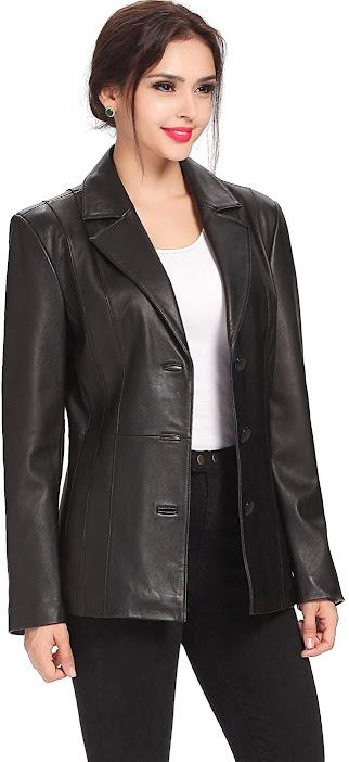 Best Leather Blazers For Women