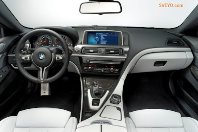 2012 BMW M6 dashboard