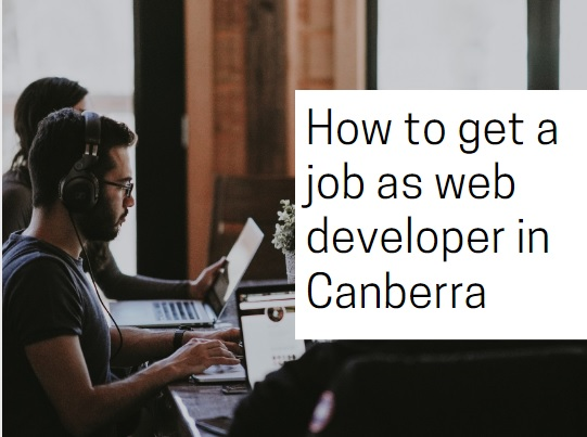 Canberra web developer