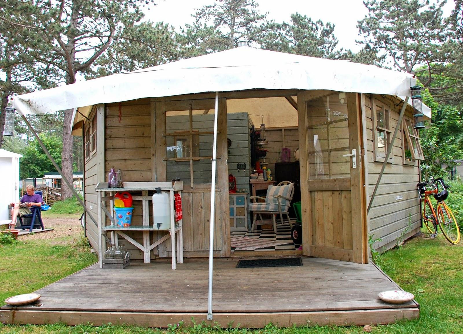 Hipaholic blog lifestyle blog met inspiratie over interieur instagram en diy camping bakkum - Interieur houten huisje ...