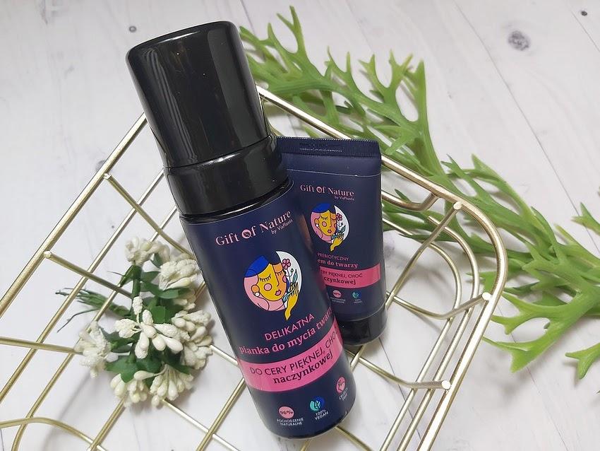 Vis Plantis Gift of Nature pianka do mycia i krem do twarzy