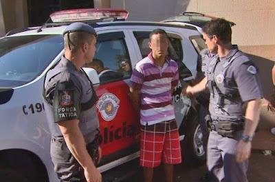 """POLÍCIA MILITAR PRENDE DETENTO QUE DESCUMPRIU NORMA DE """"SAIDINHA TEMPORÁRIA DE FINAL DE ANO"""""""