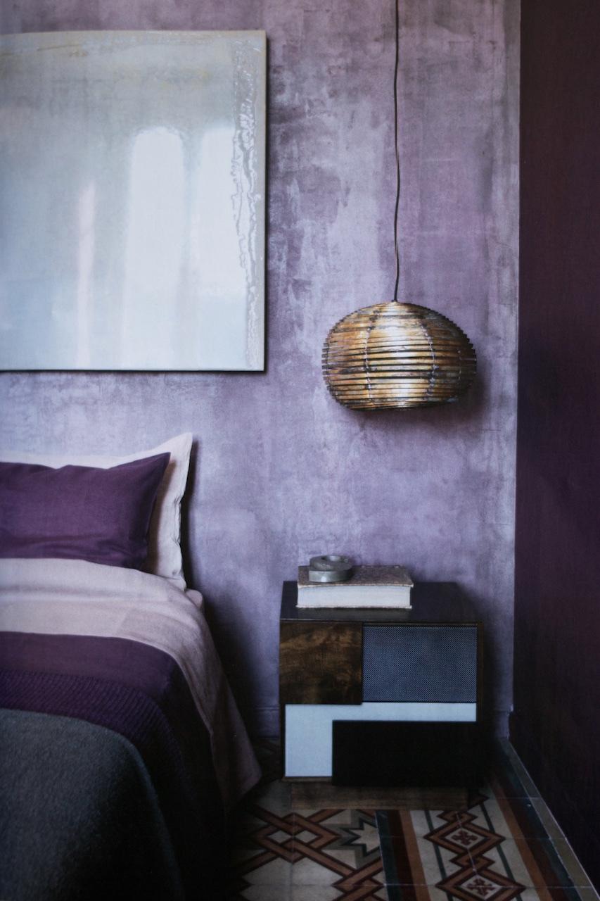 Lunch & Latte: purple shades and original floor tiles